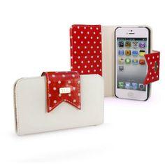funda/cartera de lunares en polipiel para Apple iPhone 5c (protector de pantalla incluido) - rojo/blanco B00H2RT2NU - http://www.comprartabletas.es/fundacartera-de-lunares-en-polipiel-para-apple-iphone-5c-protector-de-pantalla-incluido-rojoblanco-b00h2rt2nu.html