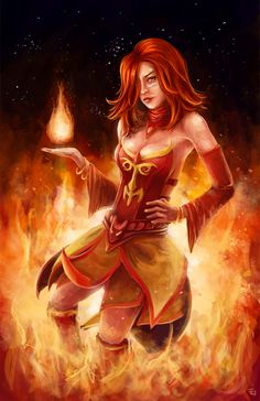 Lina Inverse Dota 1 Wallpaper 1000 Images About DOTA And 2 On Pinterest
