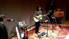 """Sharon Van Etten - """"Give Out"""", Live on Sound Opinions."""