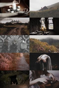Scottish Witch Aesthetic ; requested by anon