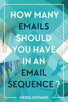 Looking for tips on how to write your first email sequence? Wondering how many emails you should have? n this post, I'll give you 7 easy steps to craft a sequence that seduces and sells and also answer the question on your mind: how many emails should I have in a sequence.