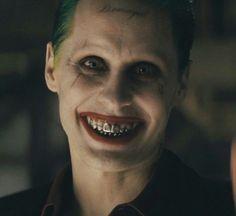 Jared Leto Joker Smile From Suicide Squad
