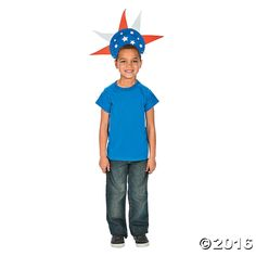 Looking for fun 4th of July activities? Finish off your Statue of Liberty costume with this 4th of July craft! This Patriotic Paper Plate Hat Craft Kit is a ...