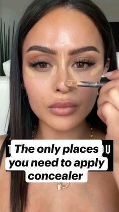 Contour Makeup, Flawless Makeup, Eyebrow Makeup, Nose Makeup, Eyebrow Tips, Dark Skin Makeup, Stunning Makeup, Creative Makeup, Simple Makeup