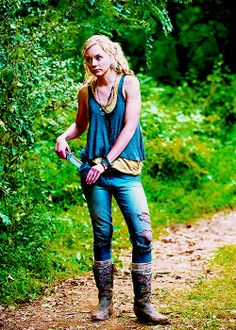 Beth. I've almost forgotten how scared she was. Now she's a badass (with a heart)