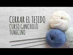 Curso Ganchillo Tunecino - Cerrar el Tejido