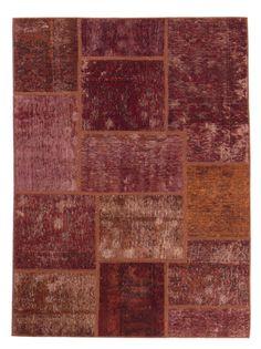 Orientteppich modern  Orientteppich Patchwork Vintage modern Handgeknüpft carpet perser ...