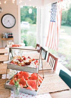 Vintage Americana Front Porch Party - Inspired By This