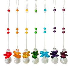 Window hanging crystals chakra prism suncatcher fengshui