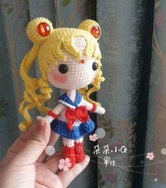 Plush Pattern, Crochet Doll Pattern, Crochet Patterns Amigurumi, Amigurumi Doll, Crochet Dolls, Kawaii Crochet, Cute Crochet, Crochet Crafts, Crochet Projects