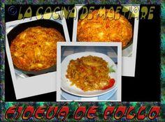 La cocina de Maetiare: Fideuá de pollo