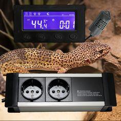 Digitaler Hygrostat Humidity Control Tag-/Nachtmodus Be-/Entfeuchter Zeitschaltuhr Alarm *externes Display* TXG