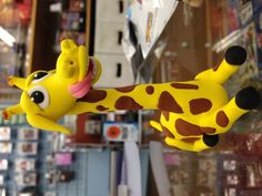 Jumping Clay Giraffe !!! Made with the world's best air drying clay :) Happy modelling