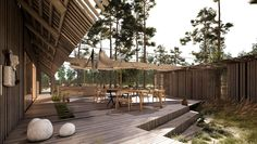 Villa Maria - Summerhouse in the forest and by the sea. New Nordic Simplicity. New Nordic, Getting Old, Facade, Terrace, Villa, Exterior, Patio, Vacation, Building