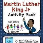 This 10 page activity packet can span two to three days, depending on how you would like to use it.  Included are:- MLK Timeline with questions-...