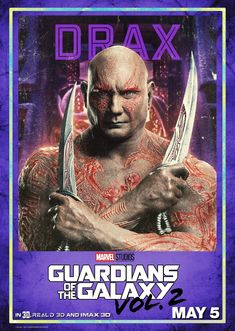 Guardiões da Galáxia Vol. 2 | Ego, Rocket Raccoon e mais estampam novos pôsteres [ATUALIZADO] | Notícia | Omelete