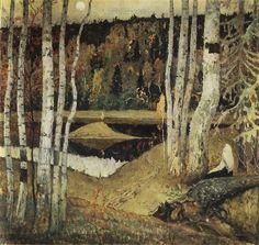 Autumn Landscape, Mikhail Nesterov