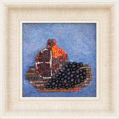 Mosaic.Гранат и черный виноград msmosaic.com