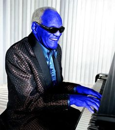 Funny Ray Charles Blue Ray Player