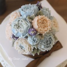 - Bean cream flower cake ✨ - #flowercake #koreacake #decocake #cakedesign #cakeart #artist #certificate #cakeartist #certificate #baking #bakingclass #cakeclass #mydearcake #mydear #korean #bakingstudio #자격증 #수료증 #플라워케이크자격증 #flowercakeclass #cakeclass #เค้กช่อดอกไม้ #เค้กดอกไม้ #peony