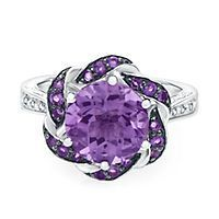 Shop a variety of jewelry styles in the February birthstone, amethyst. Shop Helzberg Diamonds, a Berkshire Hathaway Company. Amethyst And Diamond Ring, Amethyst Jewelry, Diamond Jewelry, Purple Amethyst, Gold Jewellery, Purple Rings, Purple Jewelry, Jewelry Accessories, Harry Potter Disney