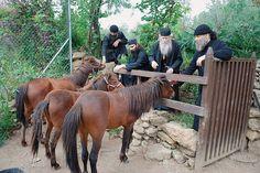 Greek Orthodox monks