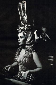 Elizabeth Taylor.  Cleopatra.  1963