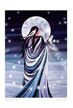 February Moon (by Betty Albert)