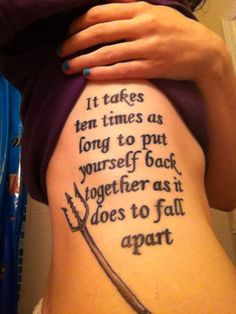 Finnick quote tattoo   this is awesome!