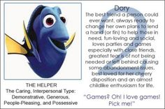 HI! I'M DORY! Quiz - Which Disney personality are you? - YouThink.com