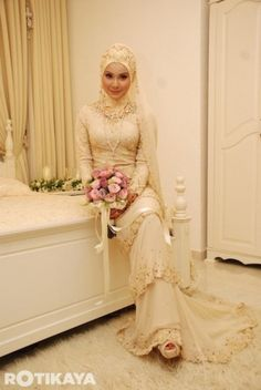 Beautiful Malay Muslim Bride.
