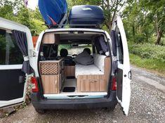 Build A Camper Van, Car Camper, Mini Camper, Micro Campers, Ford Transit Camper Conversion, Ford Transit Connect Camper, Van Conversion For Family, Berlingo Camper, Caddy Van