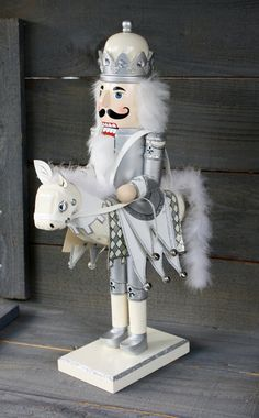 Vintage Nutcracker With Horse by NanasAtticFairy on Etsy Nutcracker Decor, Nutcracker Sweet, Nutcracker Ornaments, Nutcracker Soldier, Nutcracker Christmas, Christmas Love, A Christmas Story, Christmas Colors, Christmas Crafts