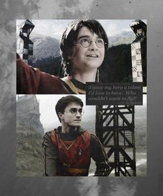 "Quidditch: ""I gave my hero a talent I would love to have. Who wouldn't want to fly?"""