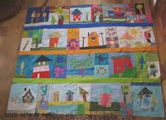 Wonky House Quilt - Bing images