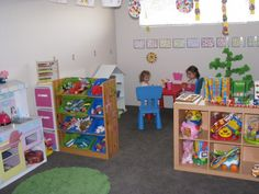 Ideas for setting up and organising a play room for the kids