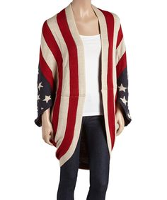 Amtal American Flag Poncho - Perfect Gift for Winter!!!