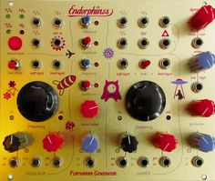 Endorphin.es - one adorable synth front panel.