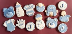 Baby Shower cookie set | Cookie Connection