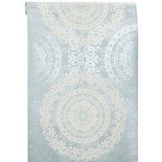 Behang Zara Blauw
