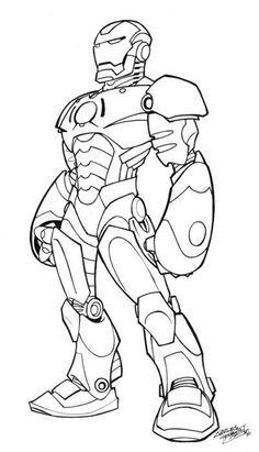 11 Meilleures Images Du Tableau Coloriage Iron Man Draw Coloring