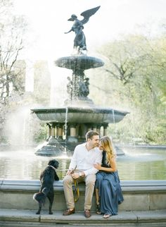 Photography : KT Merry Photography Read More on SMP: http://www.stylemepretty.com/new-york-weddings/new-york-city/2015/07/10/romantic-golden-hour-nyc-engagement-from-kt-merry-photography/