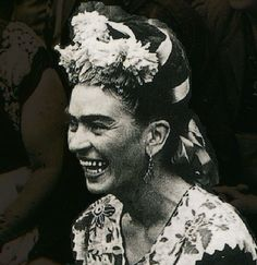 * Frida Kahlo 1952 - ...sadly, never painted herself with such an expression...