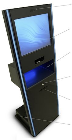 smartserve™ 400   An innovative, powerful, yet extremely easy to use kiosk   that sets the standard for patron-based RFID self-service in libraries.