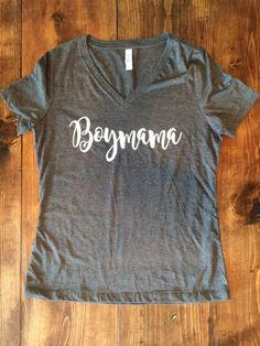 Boymama Shirt Boy Mom Shirt Boy Mom Graphic by CutsAndCreations
