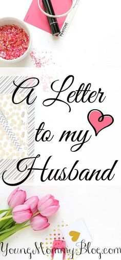 I wrote this letter in order to express my gratitude to not only my husband but also to God for giving me this beautiful marriage.