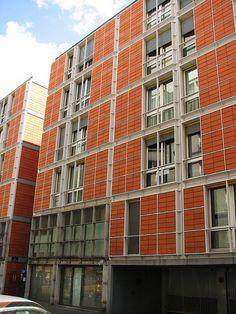 Rue de Meaux Housing - Renzo Piano