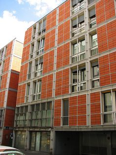 Apartments in Rue de Meaux, Paris (France) - RPBW (Renzo Piano Building Workshop)