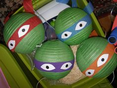 Teenage Mutant Ninja Turtles Birthday Party Ideas | Photo 19 of 23 | Catch My Party