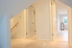 Loft conversion stairs and landing area
